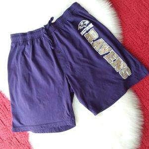 NFL | Purple Baltimore Ravens Sleep Shorts Sz L
